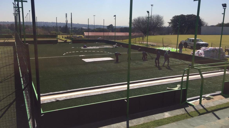New field construction underway